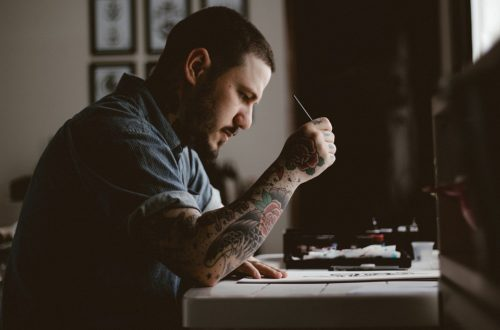 how to practice tattoo.